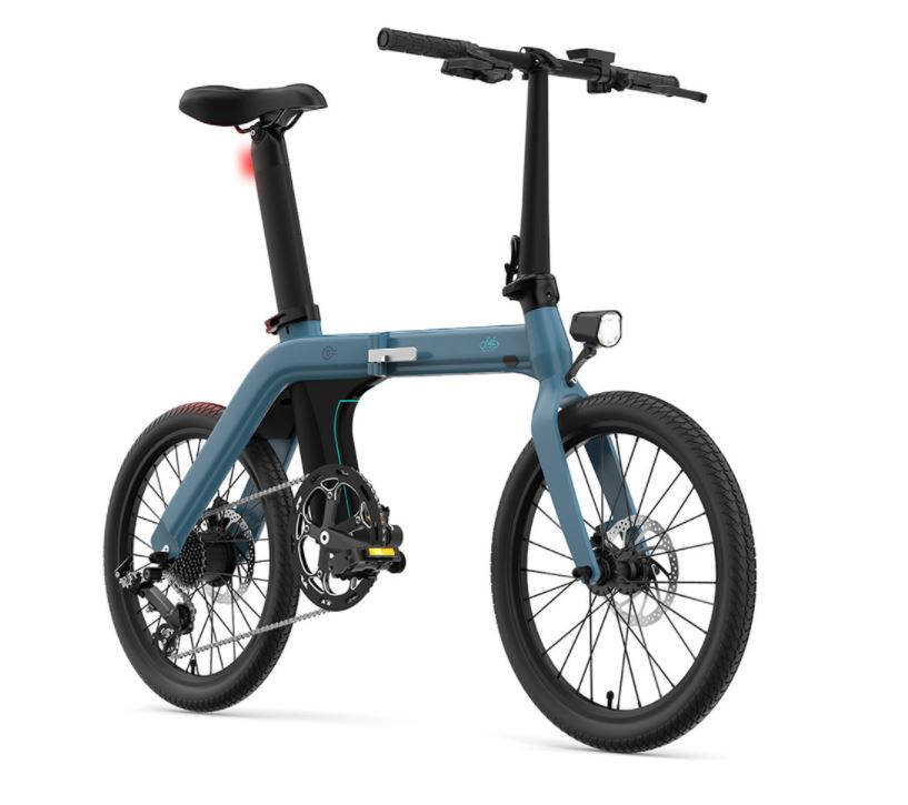 Fiido D11 ebike Folding Electric Bicycle 100km Cycling Distance With No Limitation Sale At Bicycle Land